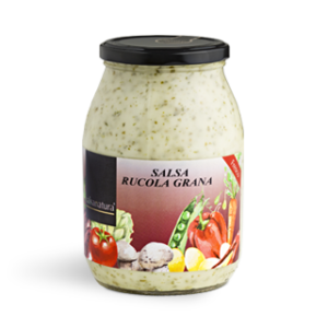 salsa rucola e grana evid