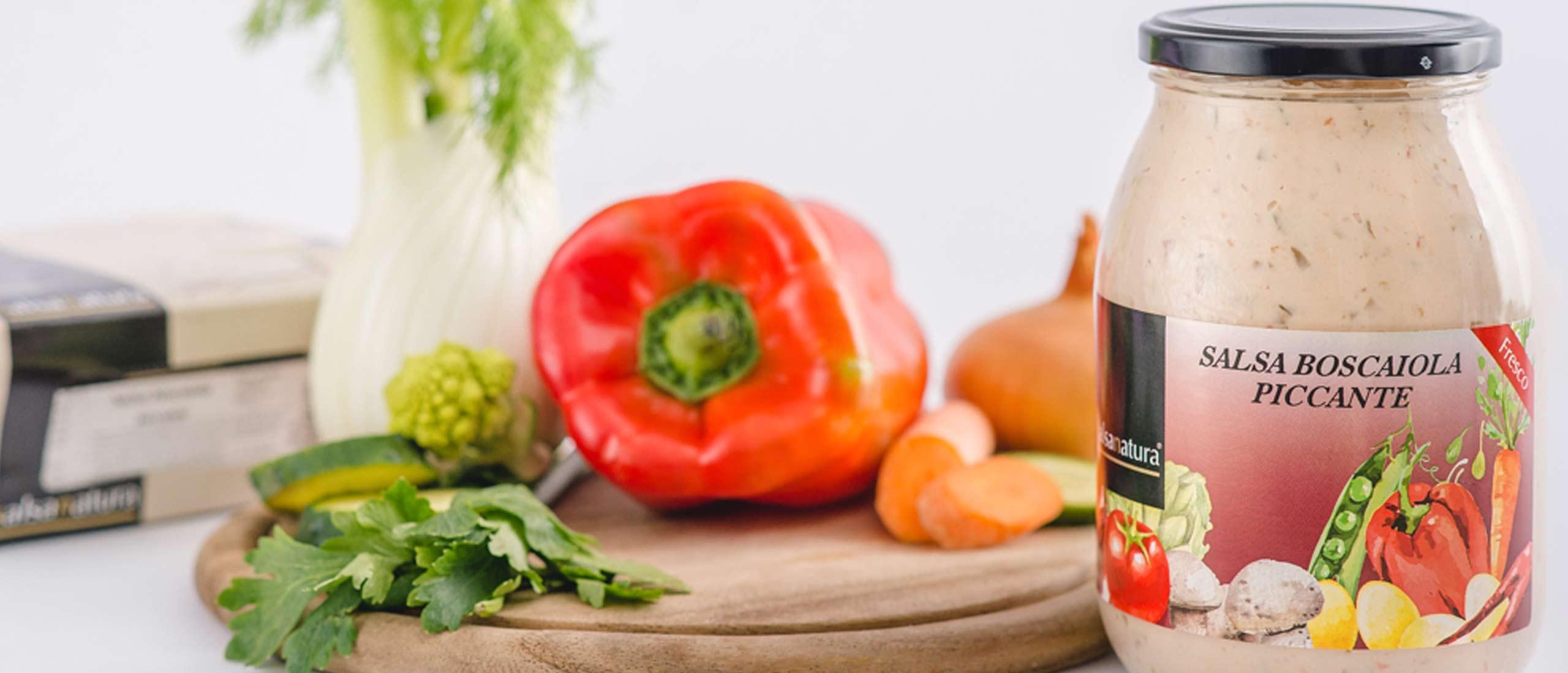 salsa boscaiola piccante head