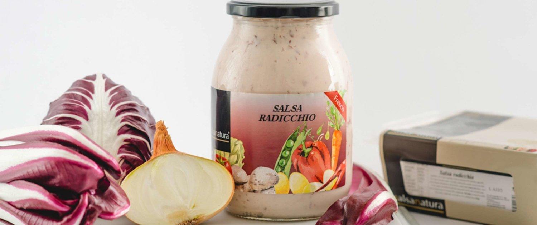 salsa radicchio head