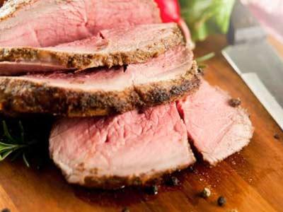 roast beef salsa rucola grana evid