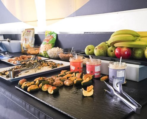 buffet moto GP con salse