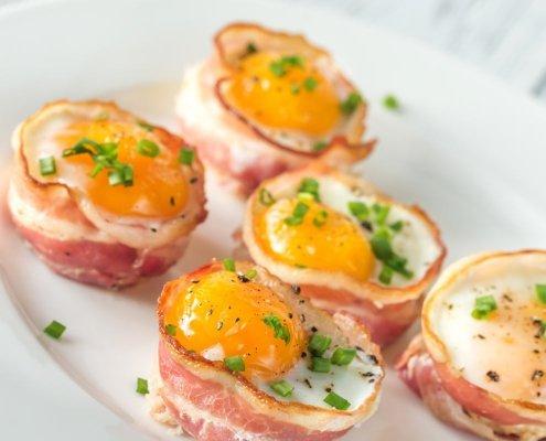 speck patate uova salsa al radicchio