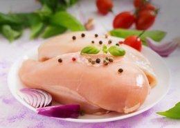 petto di pollo e salsa funghi